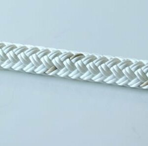 Corde Statique 11mm Blanc/Doré-0