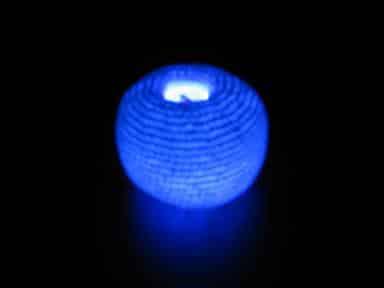 Footbag lumineux - Multicouleur-Blanc-0