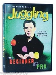 DVD Learn Juggling From Beginner to Pro with Will Roya-0