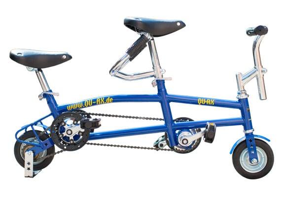 """Mini Tandem 6"""" Bleu-0"""