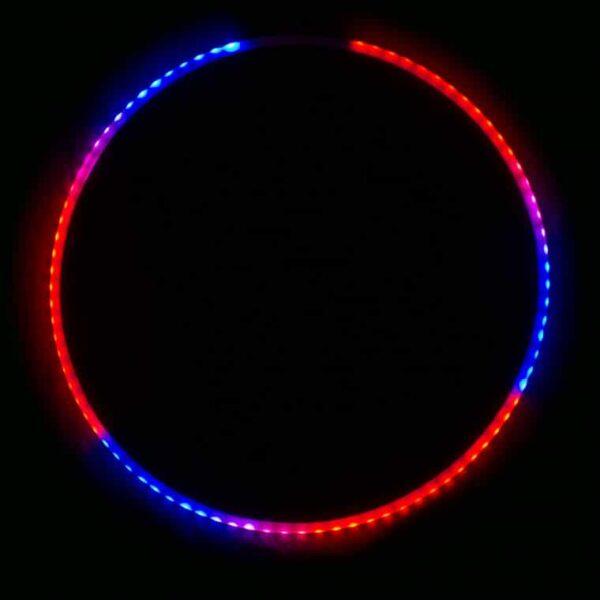 Hula hoop Echo Glow 76 LED avec manette à distance-3192
