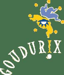 goudurix white logo