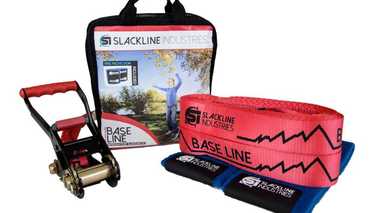 Slackline Base Line Kit
